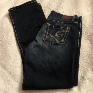 BKE The Buckle Drew Boot Cut Dark Wash Jeans
